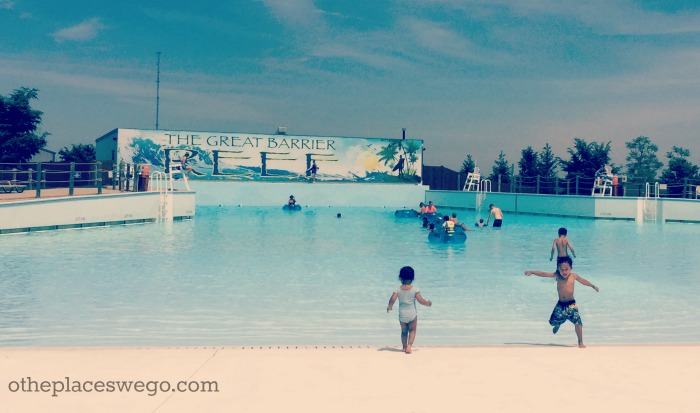 Raging Waves Waterpark - Wave Pool
