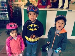 Biking Mackinac Island - Excited Kids