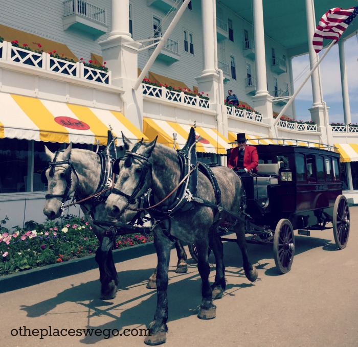 Grand Hotel Mackinac Island - Horse Carriage