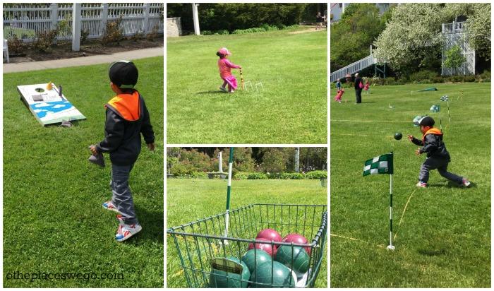 Grand Hotel Mackinac Island - Lawn Games