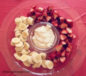 Pokemon Birthday Party - Banana Strawberries Pokeball