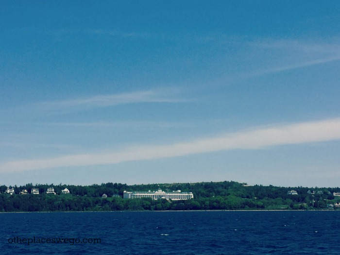 Star Line Mackinac Ferry - View of Grand Hotel
