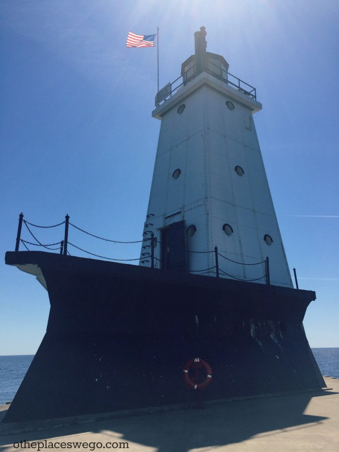 Family Friendly Ludington - North Breakwater Light