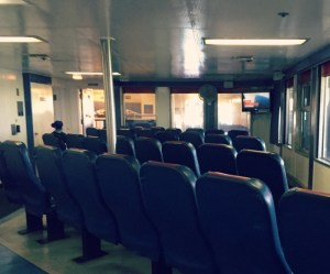 SS Badger Carferry - TV Lounge