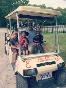 Family fun on Put-in-Bay, Ohio, a Lake Erie Island.