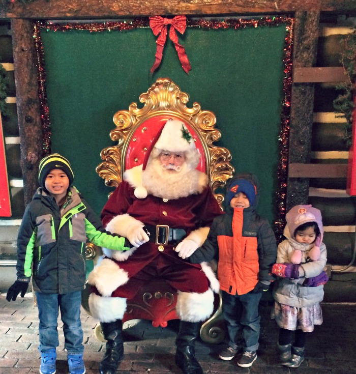 Family fun at Santa's Village AZoosment Park, a Midwest amusement park open during the winter.