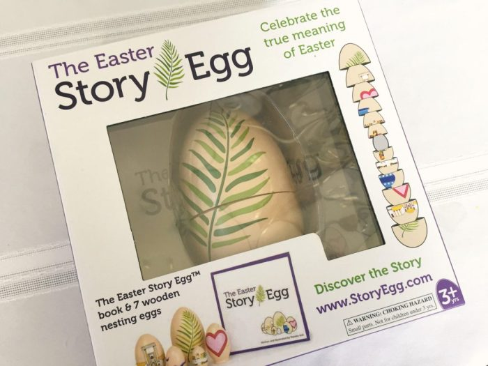 The Easter Story Egg perfect to understand the meaning of Easter.