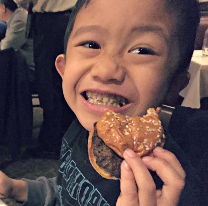 Family Fun in Indiana including food at Harry and Izzy's Steakhouse