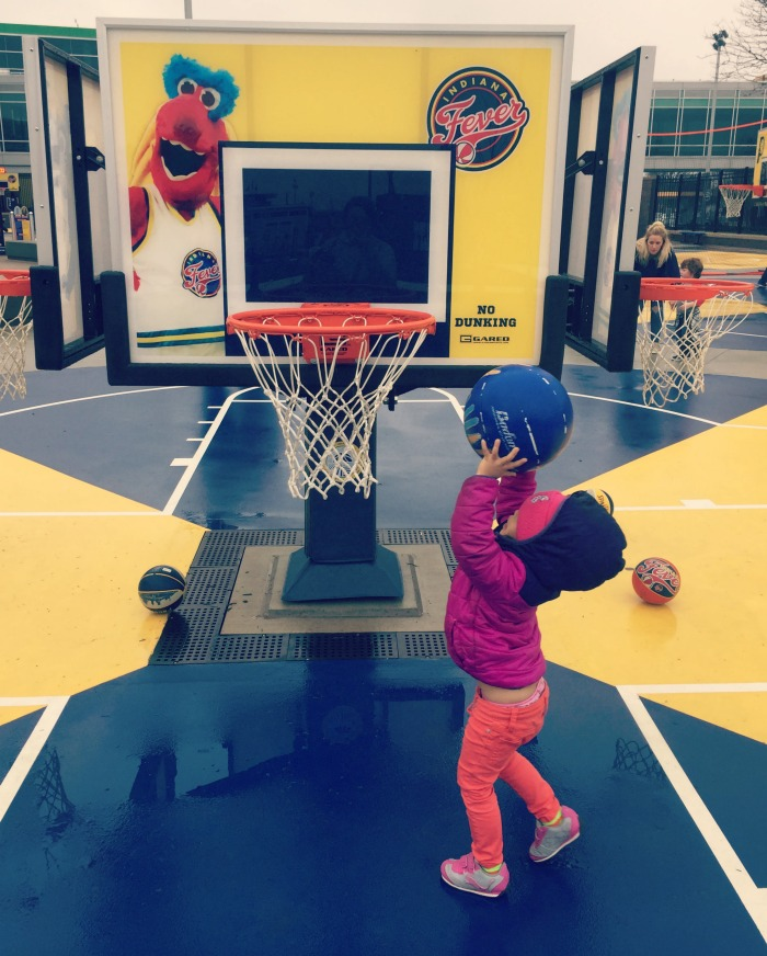 Family fun at The Children's Museum of Indianapolis including their newest and largest expansion, Sports Legend Experience