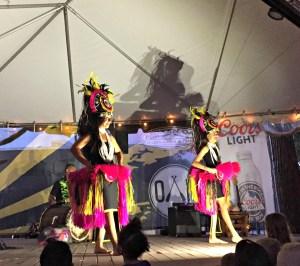 Family Fun at Broken Oar's Luau Wednesdays Sunset Party