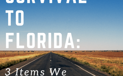 Road Trip Survival to Florida: 3 Items We Can't Live Without