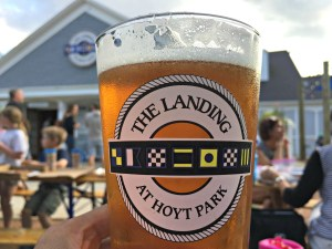 Great food and beer at The Landing at Hoyt Park