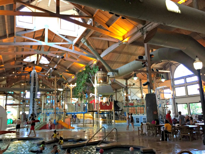 A fun stay at the recently renovated Ingleside Hotel and Springs Waterpark in Pewaukee, a suburb of Milwaukee.