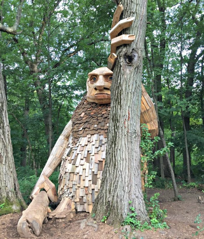 Everything you need to know about troll hunting with kids at Morton Arboretum