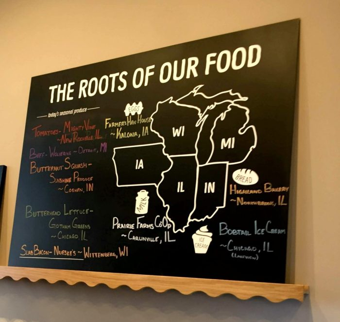 A first look at B. GOOD in Schaumburg, a new fast casual restaurant that serves healthy food with roots.