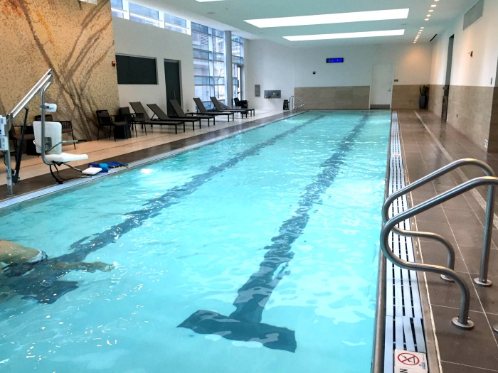 A stay at the Loews Chicago Hotel in downtown Chicago. The Chicago hotel has comfortable rooms, a great fitness center, a pool, and also offers a kids program.