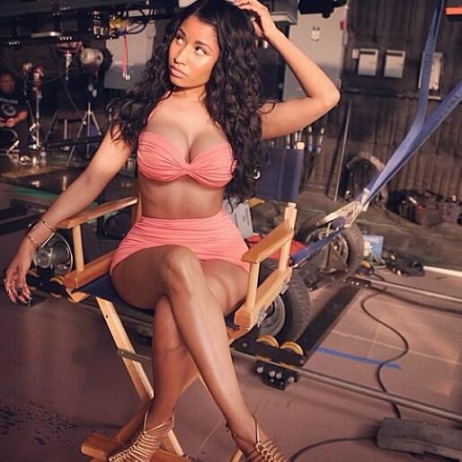 On set at the #MYXFusions Commercial