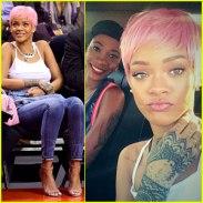 Rihanna Pink Hair3