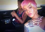 Rihanna Pink Hair4