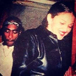 Tupac & Madonna.