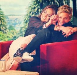 J-Lo on Ellen & J-Lo on Ellen.