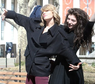 Taylor and Lorde OTHER SIDE OF THE FAME 2
