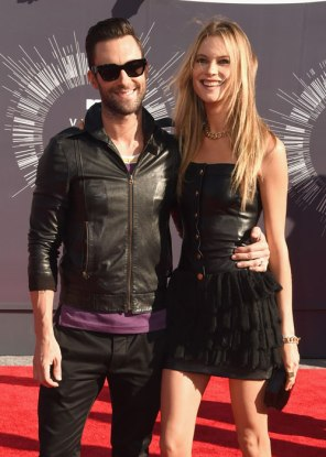 ADAM LEVINE AND HIS BOO PRINSLOO