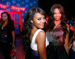Angela Simmons and Vanessa Simmons OTHER SIDE OF THE FAME