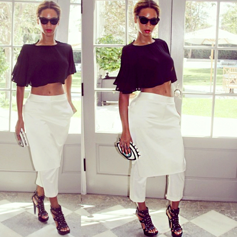 BEYONCE AT GWYNETH PALTROWS HOME _OTHERSIDEOFTHEFAME
