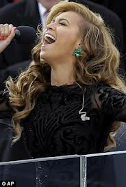 Beyonce Singing for the President