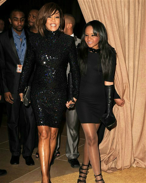 BOBBI KRISTINA AND MOM_THE LATE WHITNEY HOUSTIN OTHER SIDE OF THE FAME_Photo Credit_ Steve Granitz_Wire Image