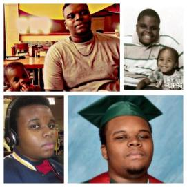 #MikeBrown The Young Man / Victim