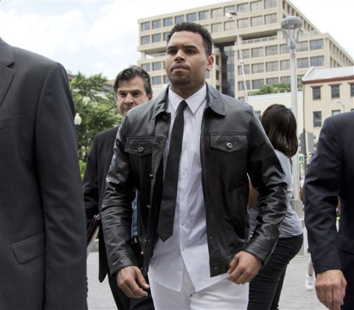 CHRIS BROWN COURTHOUSE OTHERSIDE OF THE FAME