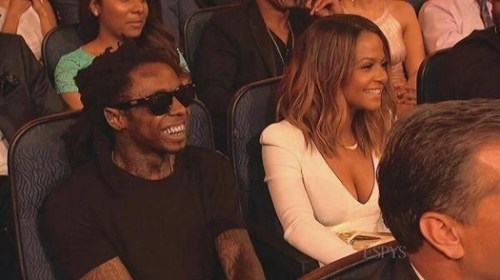 Chrstina Milian and Lil Wayne 2