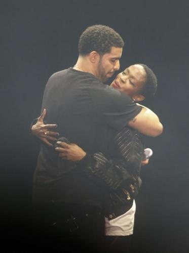 Drake and Lauryn Hill OVOFest2014