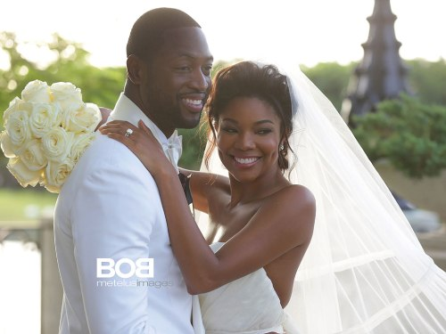 Dwayne Wade and Gabrielle Union Get Married Today_OTHER SIDE OF THE FAME_Photo credit_bob metelus images