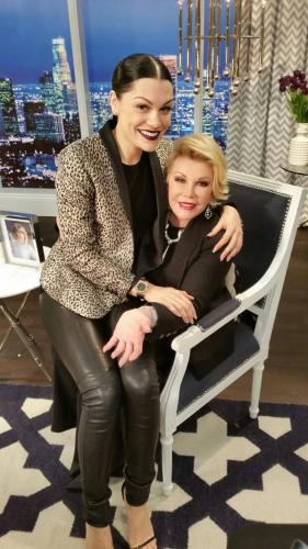 JESSE J ON FASHION PLOCE WITH JOAN RIVERS_OTHER SIDE OFTHE FAME