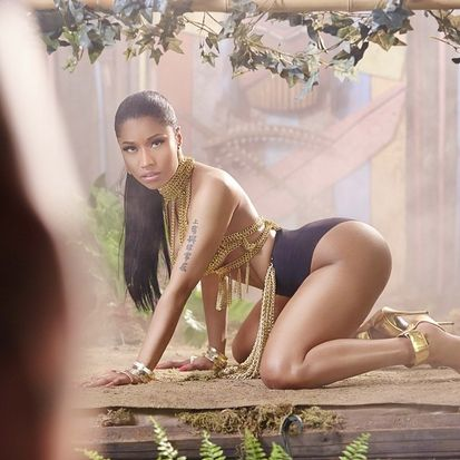 Nicki Minaj Anaconda VideoImage OTHER SIDE OF THE FAME