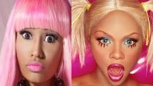 Nicki Minaj and Lil Kim OTHERSIDEOFTHEFAME 5