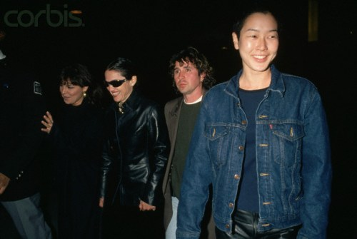 Madonna and Jenny Shimizu