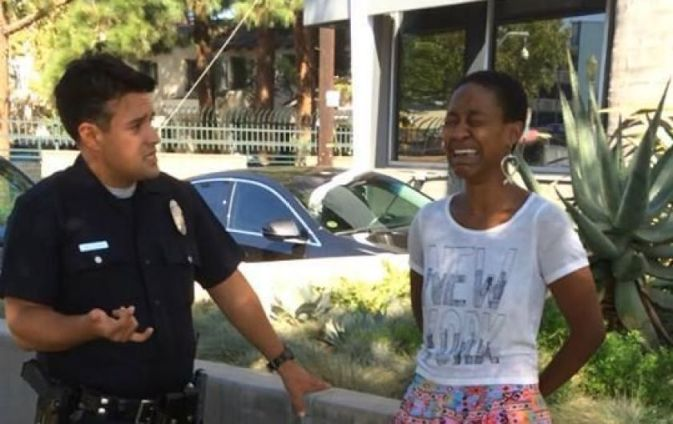 Danielle Watts and LAPD