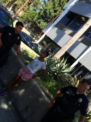 Danielle Watts and LAPD2