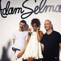 Rihanna and Adam Selman_NYFW2