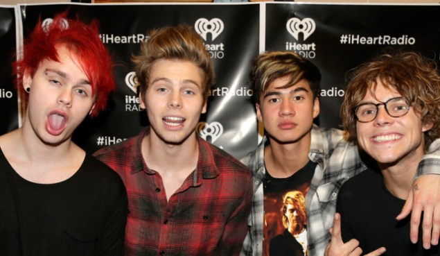 5 seconds of summer amas2014