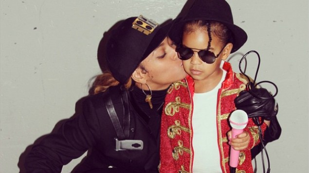 bey and blue halloween eve2014