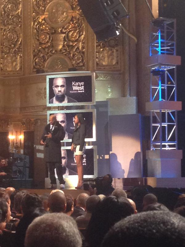DAME DASH PRESENTS KANYE AWARD