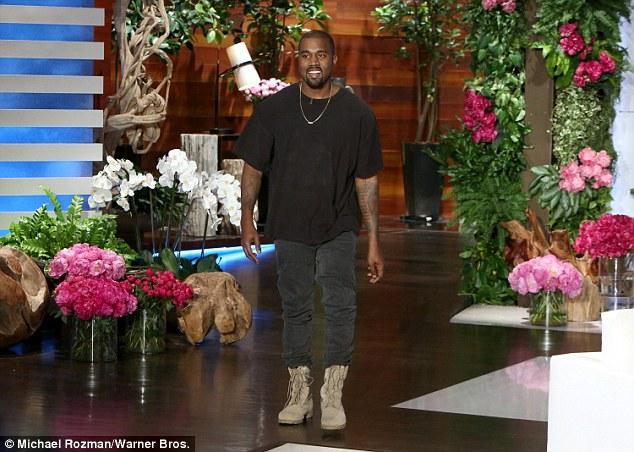 Kanye on Ellen3
