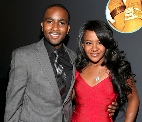 bobbi-kristina and nick gordon