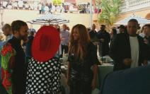 Jay Z Bey Willow grammy luncheon