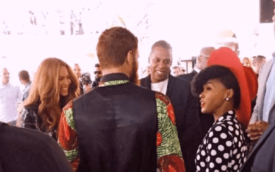 Jay Z Bey Willow Janelle monae grammy luncheon